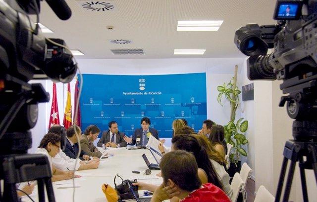 Pérez En Rueda De Prensa Sobre Anteproyecto De Informe Del Tribunal De Cuentas