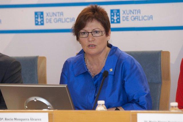 La Conselleira De Sanidade, Rocío Mosquera