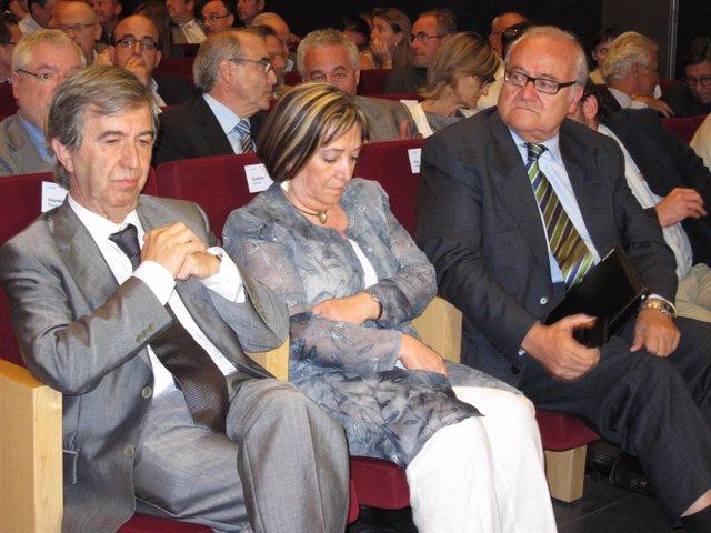 El Presidente Del ICS, Josep Prat, En Una Conferencia