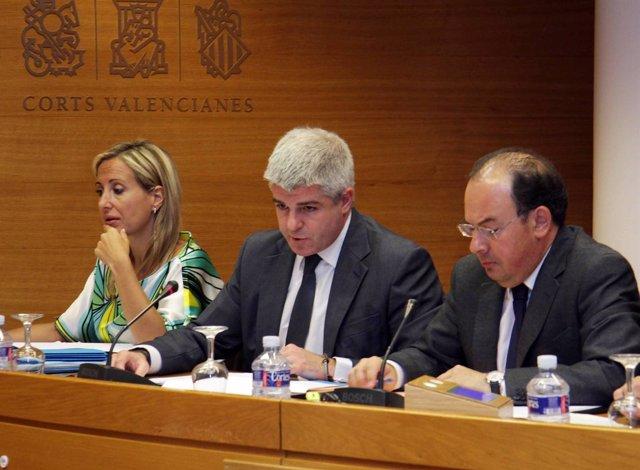 López Jaraba Comparece En La Comisión De Control De RTVV En Las Corts.