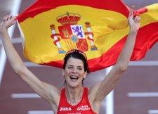 Ruth Beitia, Campeona De Europa De Salto De Altura