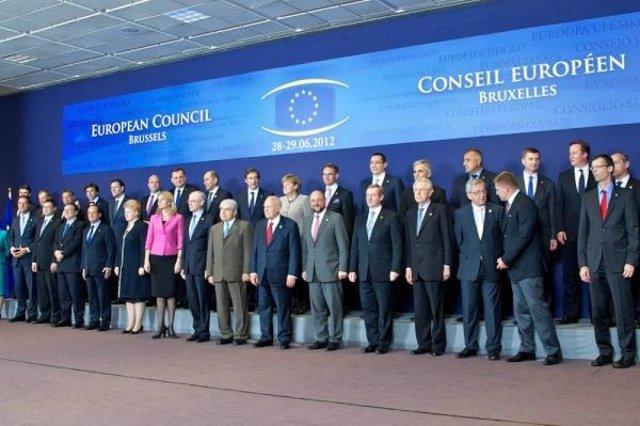 Rajoy En La Reunión Del Consejo Europeo En Bruselas