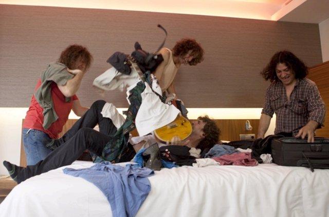 La banda de rock Extremoduro en una foto promocional