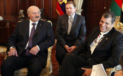 Bielorrusia.- Correa y Lukashenko firman seis acuerdos de cooperación en defensa, economía, educación y tecnología