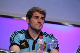 Fútbol/Selección.- Los hilarantes números de Iker Casillas, un 'Balón de Oro' en potencia