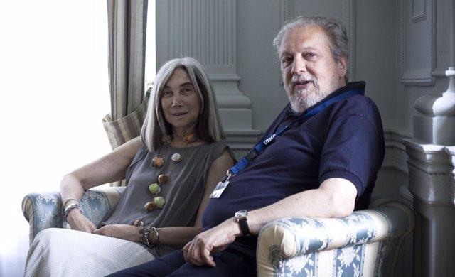 María Kodama Y Marcos Ricardo Barnatán