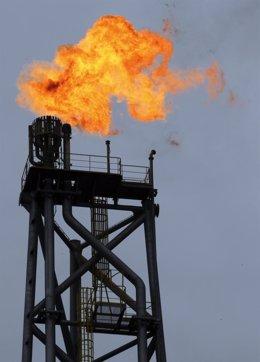 Plataforma Petrolífera, Extracción De Crudo