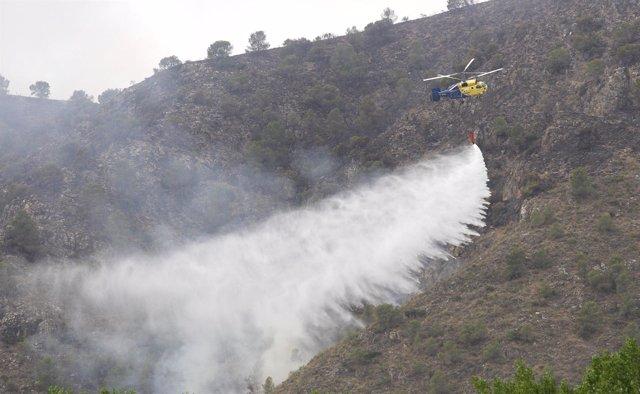 Extinción Del Incendio De Hellín