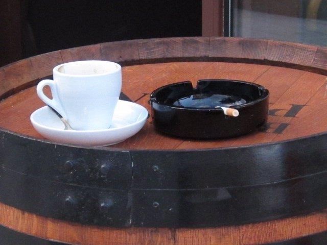 Hostelería, Tabaco, Terraza