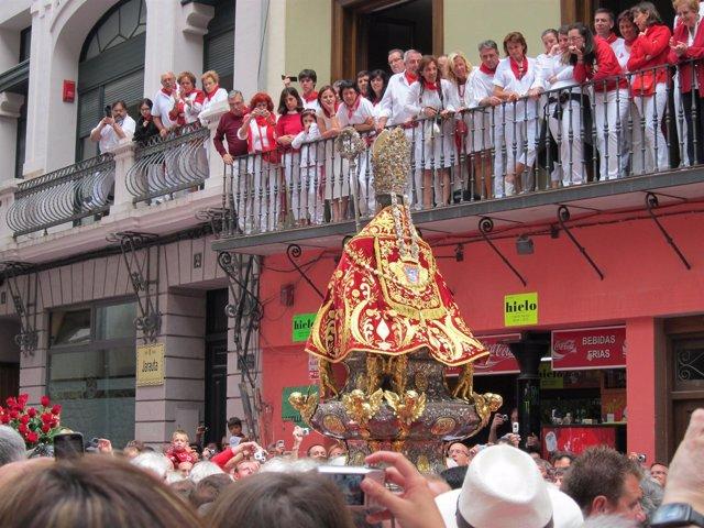 Procesión De San Fermín 2011.