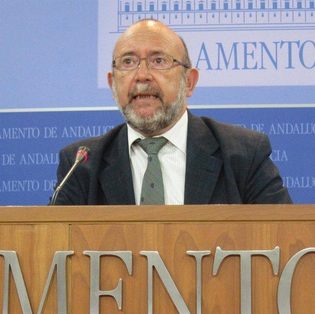 Ignacio García, este martes