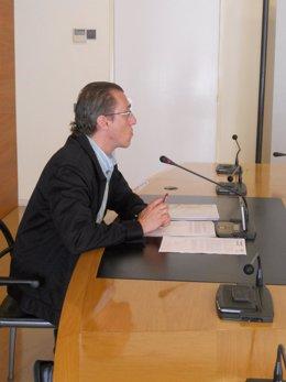 El concejal Ángel Sáinz Yangüela