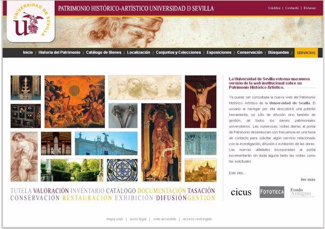 La Hispalense estrena una nueva versión de la web sobre su Patrimonio Artístico