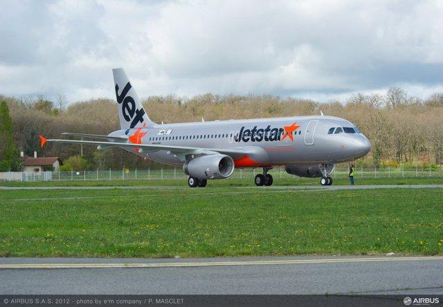 Avión De Jetstar Japan