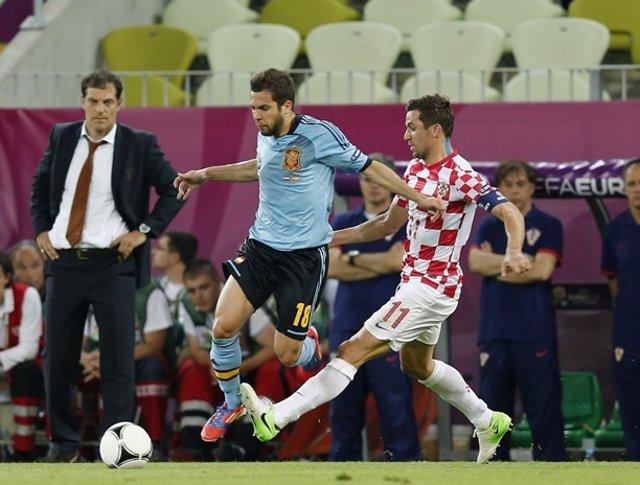 Jordi Alba Selección Española Croacia