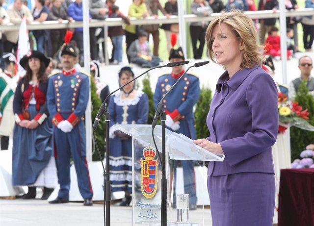 Regina Plañiol En Móstoles El Dos De Mayo