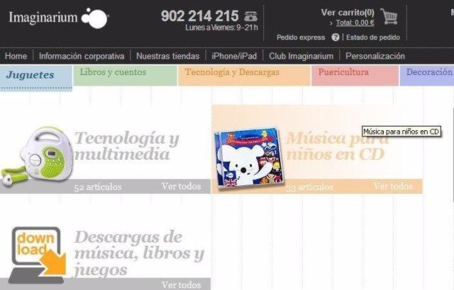 Página Web Imaginarium