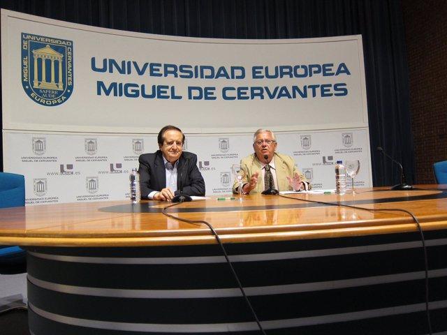 Juan José Lucas En La UEMC.