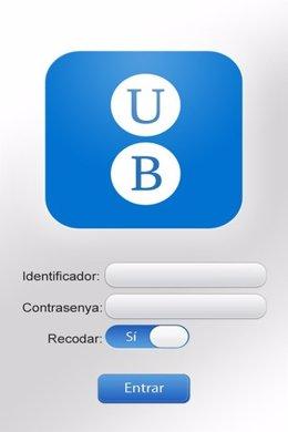Nueva aplicación móvil de la UB