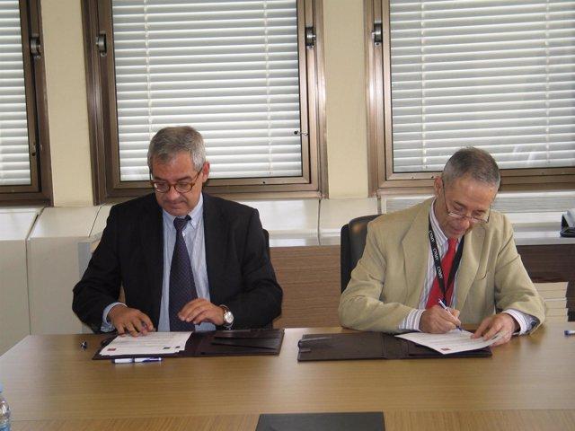 Los Presidentes De La CNE Y De La CNMV, Alberto Lafuente Y Julio Segura