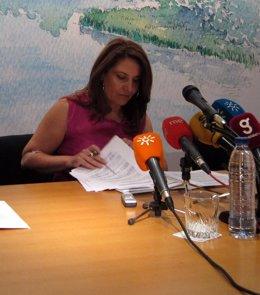 La Delegada Del Gobierno En Andalucía, Carmen Crespo, En Rueda De Prensa