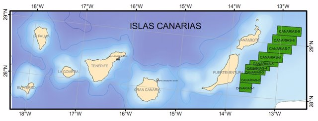 Mapa Con Las Zonas Autorizadas Con Las Prospecciones