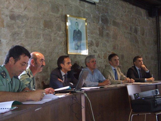 Reunión de la Junta de Seguridad de Ampuero