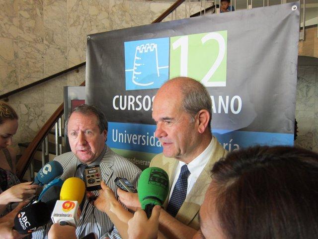 Chaves, En Declaraciones A Los Medios En Almería
