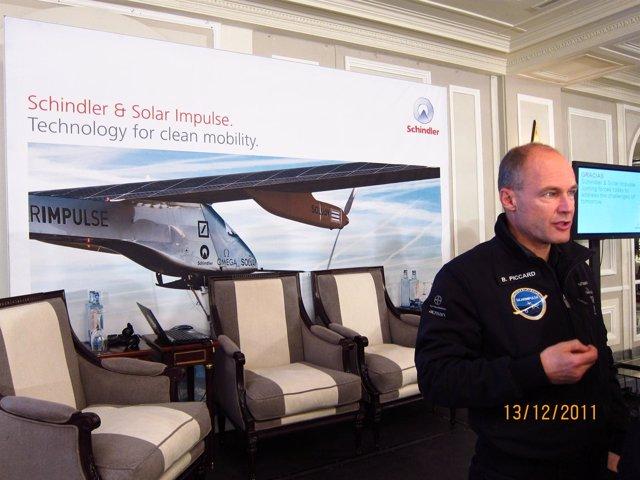 Bertrand Piccard Promotor De 'Solar Impulse'