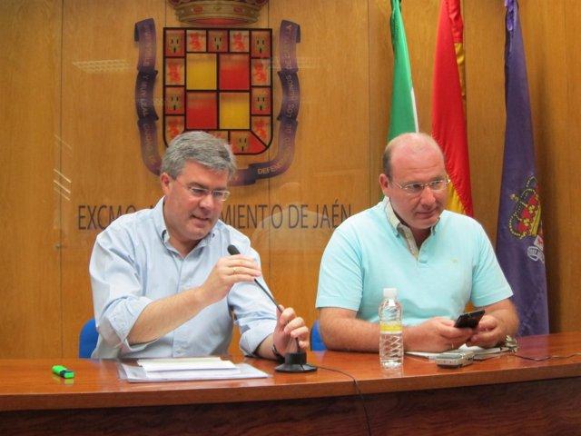 Fernández de Moya junto a Márquez hoy