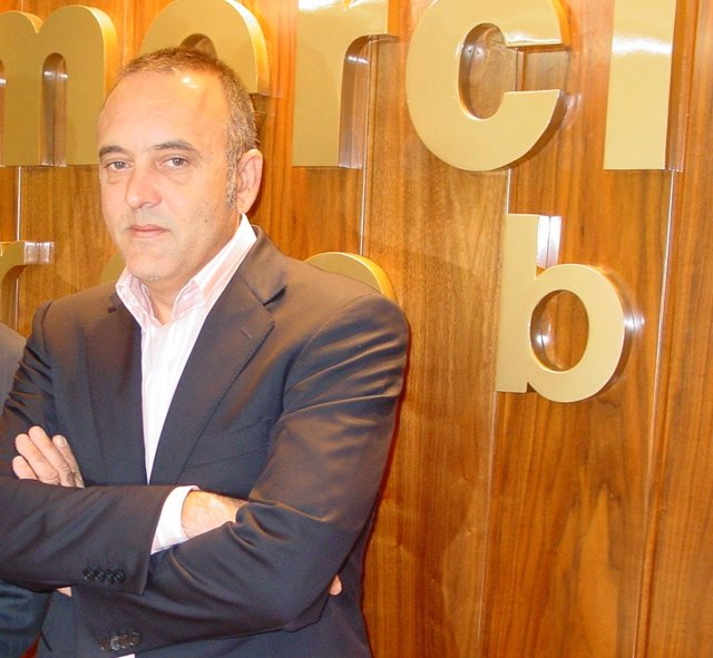 El presidente de Comercio Córdoba, Rafael Bados