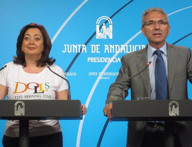 Comparecencia de la Consejera de Educación y el portavoz del Gobierno andaluz