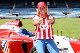 María de Villota Atlético de Madrid