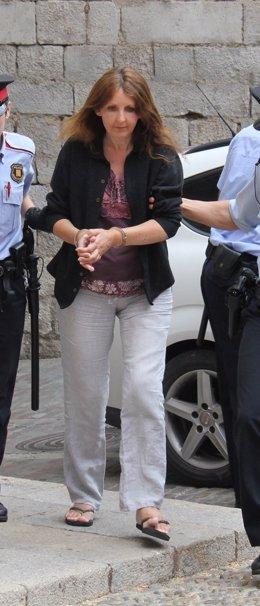 La Presunta Parricida De Lloret Llega A La Audiencia De Girona Para El Juicio