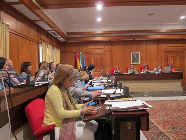 Bancada Del PP Y Presidencia Del Pleno Municipal