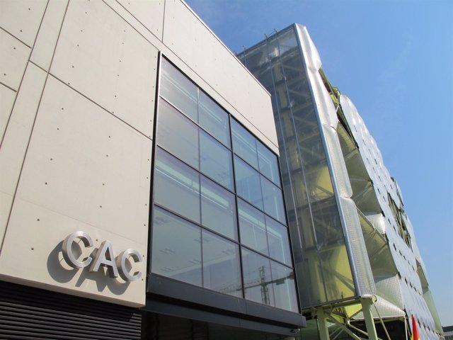 Edificio del CAC en Barcelona