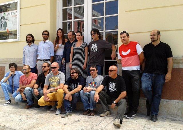 Presentación del festival Terral 2012 en Málaga