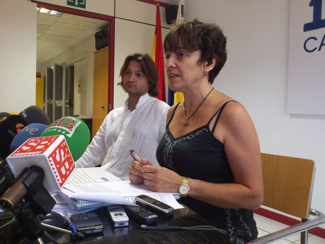 Humberto Gutiérrez y María José Blanco