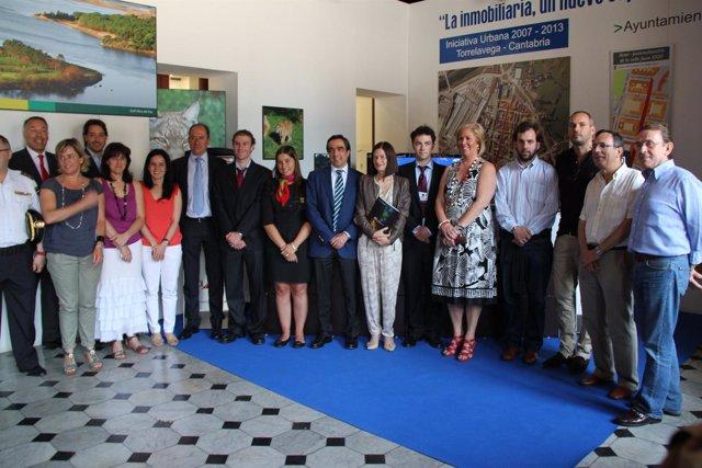 Inauguración Punto Información Turística Torrelavega