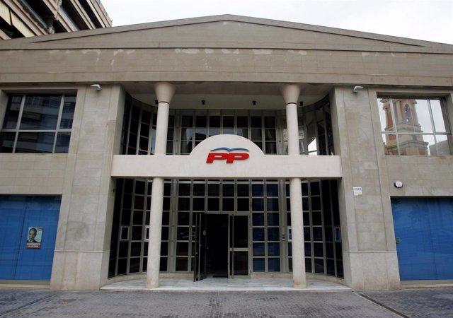 Sede del PPCV en Valencia