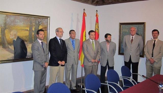 Inauguración de la exposición 'Unamuno desde el Museo de Salamanca'.