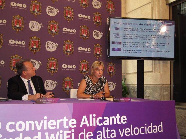 Sonia Castedo Y Víctor Guerrero