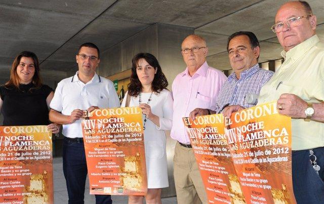Presentación de la XIV edición de la Noche Flamenca de El Coronil