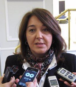 Adela Pedrosa en imagen de archivo