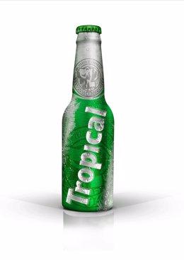 Botella de aluminio de Tropical