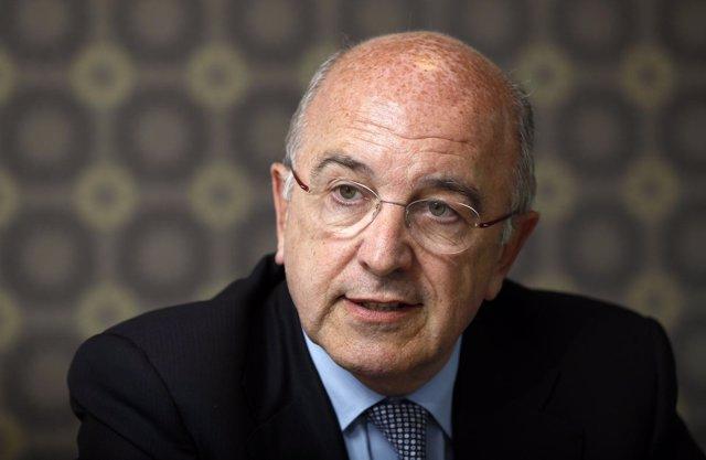 El Vicepresidente De La CE, Joaquín Almunia