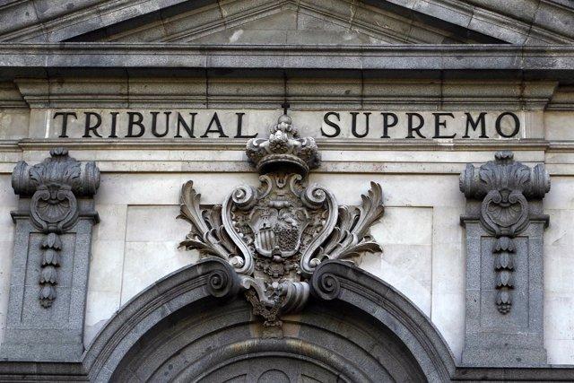 Fachada del Tribunal Supremo