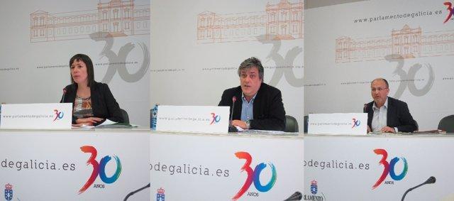 Portavoces Parlamentarios De Los Tres Grupos (Xunta De Portavoces)