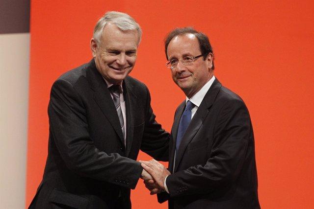 Jean-Marc Ayrault  Y Hollande