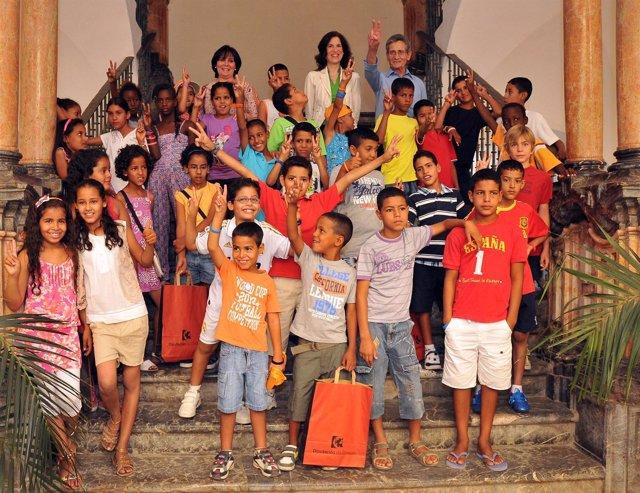 Los Niños Saharauis En La Diputación